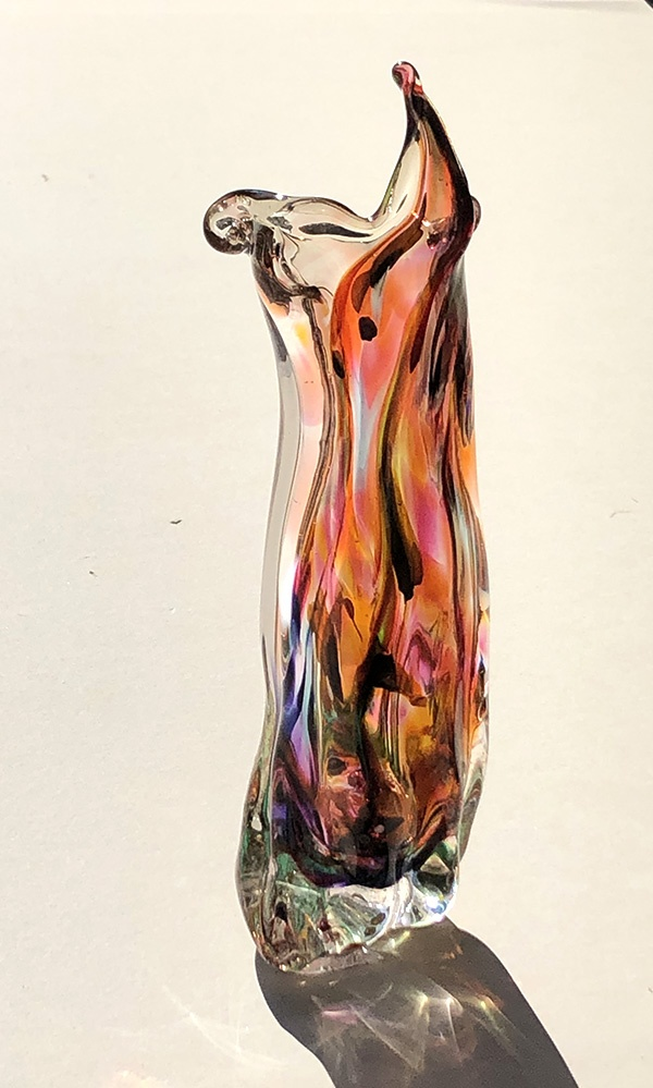 Spirit of the Badlands hand-blown glass figure