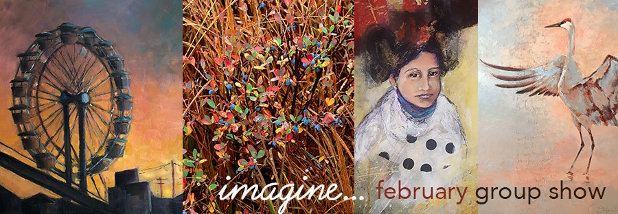 Artwork from February Group Show