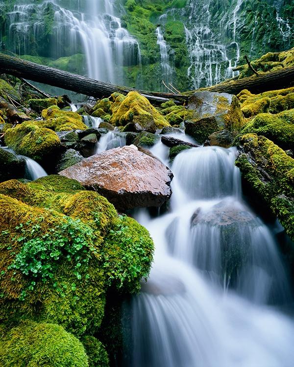 Oregon waterfall fine art photogrpahy by Bruce Jackson