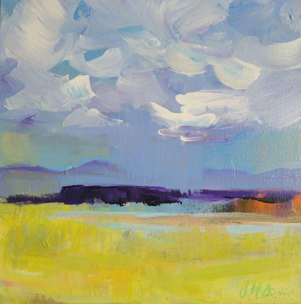 Dee McBrien-Lee paints two deserts